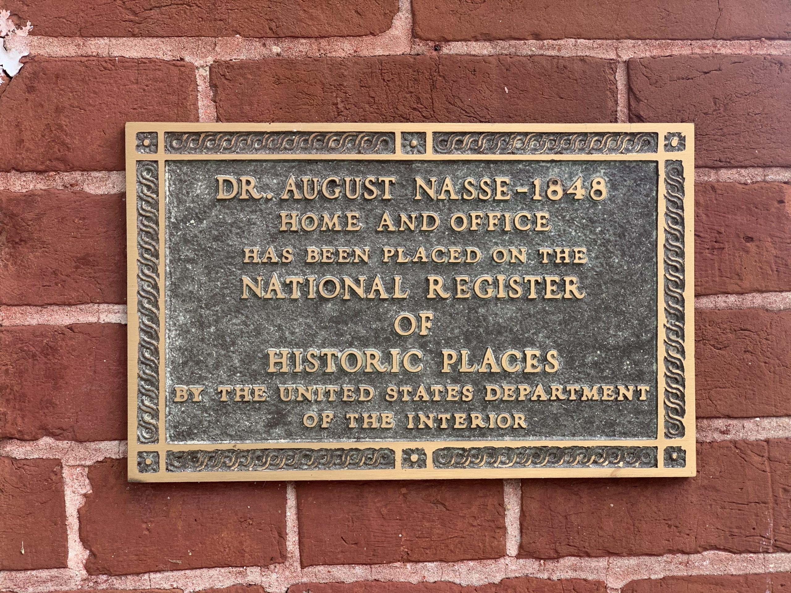 Historic Landmark Plaque